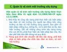 Bài giảng Tư vấn giám sát - Chuyên đề 14: Phần C - ThS. Đặng Xuân Trường