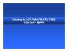 Bài giảng Địa lý cảnh quan: Chương 6 - PGS.TS. Hà Quang Hải