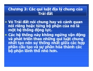 Bài giảng Địa lý cảnh quan: Chương 3 - PGS.TS. Hà Quang Hải