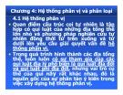 Bài giảng Địa lý cảnh quan: Chương 4 - PGS.TS. Hà Quang Hải