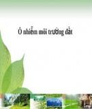 Bài giảng Ô nhiễm đất và các biện pháp xử lý - Phần II