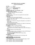 Đề cương giáo án lao động tuần 6 - Lớp 10 - GV. P.T.Sâm