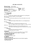 Đề cương dự giờ số 1: Bài Clo -  Hóa học 10 - GV.N.T.T.Thảo
