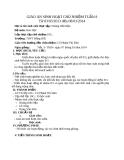 Giáo án sinh hoạt chủ nhiệm tuần 8 - Hóa học 10 - GV.P.T.Sâm