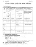 Đề cương ôn tập Hóa Hữu cơ 12 - Trường THPT Trần Đại Nghĩa (Chương 3)