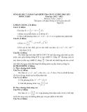 3 Đề kiểm tra chất lượng HK 1 môn Toán 12 - Sở GD&ĐT Đồng Tháp (2012-2013)