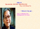 Bài giảng bài Học hát: Em yêu trường em - Âm nhạc 3 - GV:Hoàng Dung
