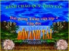 Slide bài Tập đọc: Bốn anh tài - Tiếng việt 4 - GV.Lâm Ngọc Hoa