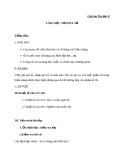 Bài 9: Làm việc với dãy số - Giáo án Tin học 8 - GV.Đ.D.Hiệp