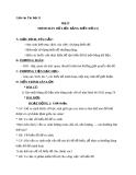 Giáo án bài Trình bày dữ liệu bằng biểu đồ - Tin học 7 - GV.N.V.Hải