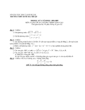 Tổng hợp đề thi học kì 1 môn Toán lớp 10 các năm