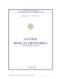 Giáo trình Bệnh cây chuyên khoa: Phần 1 - GS.TS. Vũ Triệu Mân