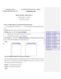 Kỳ thi HSG trường  Tin học THPT - Bảng A khối 11 (2013-2014) - THPT Đặng Thúc Hứa