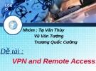 Báo cáo VPN và Remote Access