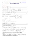 Một vài bài tập hay về phương trình vô tỷ - TS. Nguyễn Phú Khánh