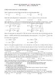 Đề KTCL ôn thi Đại học lần 1 môn Vật lý (2013-2014) khối A,A1 - Mã đề 370