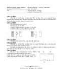 Đề thi kiểm tra học kì I môn Vật lý lớp 9 năm học 2011 -2012 - Phòng GD & ĐT Triệu Phong
