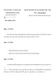 Đề kiểm tra học kì II môn Vật lý lớp 9 năm học 2009 -2010 - Sở DG & ĐT Thành Phố Đà Nẵng