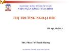 Bài giảng Tài chính quốc tế: Chương 5 - ThS. Phan Thị Thanh Hương