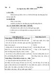 Giáo án bài 20: Ôn tập: Bầu trời xanh - Âm nhạc 1 - GV:Bích Huân
