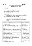 Giáo án Âm nhạc 1 bài 28: Ôn tập hát Quả. Hòa bình cho bé