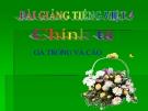Bài Chính tả: Nhớ, viết: Gà Trống và Cáo - Bài giảng điện tử Tiếng việt 4 - GV.N.Phương Hà
