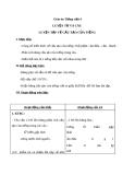 Bài Luyện từ và câu: Luyện tập về cấu tạo của tiếng - Giáo án Tiếng việt 4 - GV.N.Phương Hà