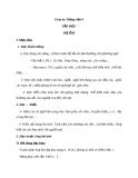 Bài Tập đọc: Mẹ ốm - Giáo án Tiếng việt 4 - GV.N.Phương Hà