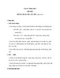 Giáo án Tiếng Việt 4 tuần 2 bài: Tập đọc -  Dế Mèm bênh vực kẻ yếu (TT)