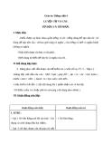 Bài Luyện từ và câu: Từ đơn và từ phức - Giáo án Tiếng việt 4 - GV.N.Phương Hà