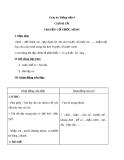Bài Chính tả: Nhớ, viết: Truyện cổ nước mình - Giáo án Tiếng việt 4 - GV.N.Phương Hà