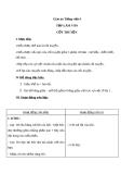 Bài Tập làm văn: Cốt truyện - Giáo án Tiếng việt 4 - GV.N.Phương Hà