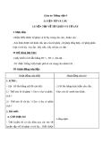 Bài Luyện từ và câu: Luyện tập về từ ghép và từ láy - Giáo án Tiếng việt 4 - GV.N.Phương Hà
