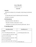 Bài Luyện từ và câu: Danh từ - Giáo án Tiếng việt 4 - GV.N.Phương Hà
