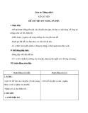 Bài Kể chuyện đã nghe, đã đọc (Tuần 6) - Giáo án Tiếng việt 4 - GV.N.Phương Hà