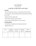 Bài TLV: Luyện tập xây dựng đoạn văn kể chuyện - Giáo án Tiếng việt 4 - GV.N.Phương Hà
