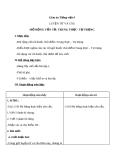 Bài LTVC: Mở rộng vốn từ: Trung thực - Tự trọng - Giáo án Tiếng việt 4 - GV.N.Phương Hà