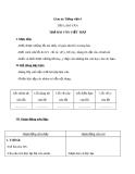 Bài Tập làm văn: Trả bài văn viết thư - Giáo án Tiếng việt 4 - GV.N.Phương Hà