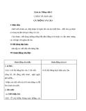 Bài Chính tả: Nhớ, viết: Gà Trống và Cáo - Giáo án Tiếng việt 4 - GV.N.Phương Hà