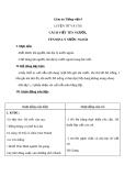 Bài LTVC: Cách viết tên người, tên địa lí  - Giáo án Tiếng việt 4 - GV.N.Phương Hà