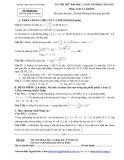 Đề thi thử ĐH môn Toán - THPT  chuyên Vĩnh Phúc lần 2 (2012-2013) khối D