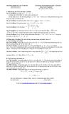 Đề thi thử ĐH môn Toán - THPT Số 1 Tuy Phước lần 1 năm 2013 (khối D)