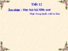 Bài giảng Học hát bài: Ước mơ - Âm nhạc 5 - GV:Hoàng Dung