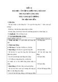Giáo án tiết Ôn tập và kiểm tra 2 bài hát - Âm nhạc 5 - GV:Hoàng Dung