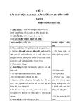 Giáo án tiết Học hát: Hãy giữ cho em bầu trời xanh - Âm nhạc 5 - GV:Hoàng Dung