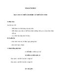Giáo án Tin học 6 bài 3: Em có thể làm được gì nhờ máy tính