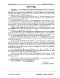 Hướng dẫn sử dụng GeoSigma/W 5 - GS. Nguyễn Công Mẫn
