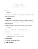 Giáo án Tin học 6 bài 12: Hệ điều hành Windows