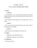 Giáo án Tin học 6 bài 13: Làm quen với soạn thảo văn bản