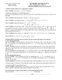 Đề thi thử ĐH lần 1 Toán khối A, A1 (2013-2014) – THPT chuyên Hùng Vương (Kèm Đ.án)